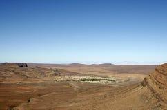 ορεινό χωριό του Μαρόκου &al Στοκ Φωτογραφία