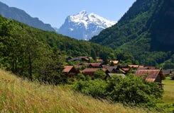 ορεινό χωριό στοκ εικόνες με δικαίωμα ελεύθερης χρήσης