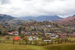 Ορεινό χωριό στοκ εικόνα με δικαίωμα ελεύθερης χρήσης