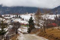 Ορεινό χωριό στοκ φωτογραφία