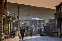 Ορεινό χωριό Alamut Στοκ Εικόνες