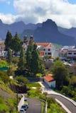 Ορεινό χωριό Artenara Στοκ Φωτογραφίες