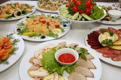 ορεκτικά τρόφιμα μερικοί στοκ εικόνες με δικαίωμα ελεύθερης χρήσης