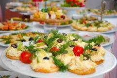 ορεκτικά τρόφιμα μερικοί στοκ φωτογραφίες με δικαίωμα ελεύθερης χρήσης