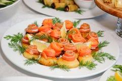 ορεκτικά τρόφιμα μερικοί Στοκ Εικόνες