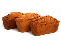 ορεκτικά fruitcakes τρία Στοκ Εικόνα