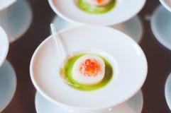Ορεκτικό με το χαβιάρι και τα αυγά Στοκ φωτογραφίες με δικαίωμα ελεύθερης χρήσης