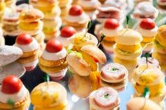 Ορεκτικό τροφίμων δάχτυλων Στοκ φωτογραφίες με δικαίωμα ελεύθερης χρήσης