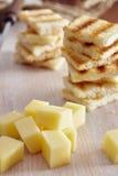Ορεκτικό τυριών και μελιού Στοκ φωτογραφία με δικαίωμα ελεύθερης χρήσης