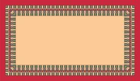 Ορθογώνιο εθνικό πλαίσιο Κενό διάστημα για το κείμενό σας τρύγος ατμοπλοίων αφισών Καλιφόρνιας Ζωηρόχρωμα στοιχεία σε ένα υπόβαθρ απεικόνιση αποθεμάτων