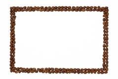 ορθογώνιο πλαισίων καφέ Στοκ Φωτογραφία