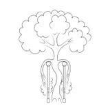 Ορθοπεδική λογότυπων Στοκ φωτογραφίες με δικαίωμα ελεύθερης χρήσης