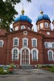 Ορθόδοξη Εκκλησία του αρχιτεκτονικού μνημείου μεσολάβησης του 19ου αιώνα στοκ εικόνα με δικαίωμα ελεύθερης χρήσης