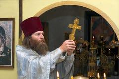 ορθόδοξος ιερέας ρωσικά Στοκ εικόνες με δικαίωμα ελεύθερης χρήσης
