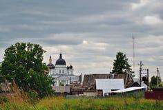 Ορθόδοξο, αγροτικό, χριστιανικό μοναστήρι Στοκ φωτογραφία με δικαίωμα ελεύθερης χρήσης