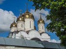 Ορθόδοξο μοναστήρι στην περιοχή της Μόσχας της κεντρικής Ρωσίας στοκ εικόνες
