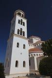 Ορθόδοξη Εκκλησία Αγίου Mary Pantanasa πύργων κουδουνιών, Πάφος Στοκ Φωτογραφίες