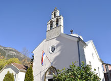 Ορθόδοξη Εκκλησία στην πόλη Djenovoci Στοκ Εικόνες