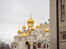 Ορθόδοξη Εκκλησία στη Μόσχα Κρεμλίνο Στοκ Εικόνα