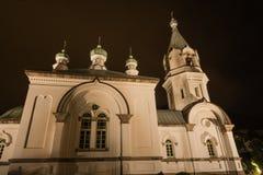 Ορθόδοξη Εκκλησία της Ρωσίας στο Hakodate Στοκ εικόνες με δικαίωμα ελεύθερης χρήσης