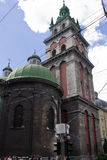 Ορθόδοξη Εκκλησία της υπόθεσης Στοκ φωτογραφία με δικαίωμα ελεύθερης χρήσης