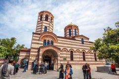 14 05 2017 - Ορθόδοξη Εκκλησία του Άγιου Βασίλη σε Batumi Δημοκρατία Στοκ φωτογραφία με δικαίωμα ελεύθερης χρήσης