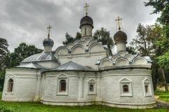 Ορθόδοξη Εκκλησία του Michael αρχαγγέλων του παλατιού Arkhangelskoye Στοκ Εικόνες