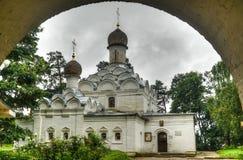 Ορθόδοξη Εκκλησία του Michael αρχαγγέλων του παλατιού Arkhangelskoye Στοκ φωτογραφίες με δικαίωμα ελεύθερης χρήσης