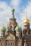 Ορθόδοξη Εκκλησία του Savior στο αίμα θόλος Isaac Πετρούπολη Ρωσία s Άγιος ST καθεδρικών ναών Στοκ εικόνες με δικαίωμα ελεύθερης χρήσης