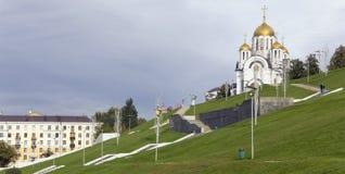 Ορθόδοξη Εκκλησία του ST Georges Στοκ Εικόνες