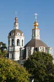 Ορθόδοξη Εκκλησία στη Μόσχα Στοκ φωτογραφίες με δικαίωμα ελεύθερης χρήσης