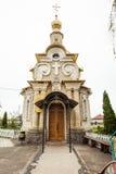 Ορθόδοξη παλαιότερη εκκλησία Στοκ Εικόνες
