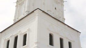 Ορθόδοξη χριστιανική εκκλησία, χτύπημα κουδουνιών απόθεμα βίντεο
