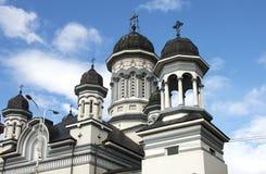 Ορθόδοξος καθεδρικός ναός σε Radauti Στοκ Φωτογραφία