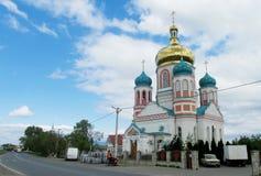 Ορθόδοξος καθεδρικός ναός σε Uzhorod, Ουκρανία στοκ φωτογραφία με δικαίωμα ελεύθερης χρήσης
