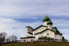 Ορθόδοξος ναός στο Pskov, Ρωσία Στοκ Φωτογραφίες
