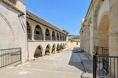 Ορθόδοξο μοναστήρι στη Κύπρο στοκ εικόνες