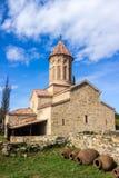 Ορθόδοξο μοναστήρι Ikalto σύνθετο και ακαδημία σε Kakheti Γεωργία Στοκ φωτογραφία με δικαίωμα ελεύθερης χρήσης