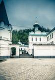 Ορθόδοξο προαύλιο μοναστηριών Στοκ φωτογραφίες με δικαίωμα ελεύθερης χρήσης