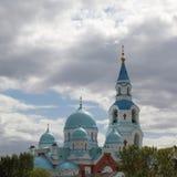 Ορθόδοξο χριστιανικό μοναστήρι ατόμων Preobrazhensky Valaam Spaso Στοκ φωτογραφία με δικαίωμα ελεύθερης χρήσης