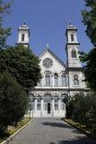 ορθόδοξο triada εκκλησιών aya Στοκ Εικόνες