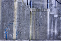 Οριζόντια γκράφιτι Στοκ εικόνες με δικαίωμα ελεύθερης χρήσης