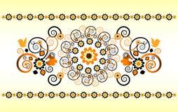 οριζόντια διακόσμηση λο&upsil Στοκ φωτογραφία με δικαίωμα ελεύθερης χρήσης