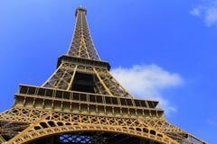 Οριζόντια εικόνα της όμορφης έλξης, ο πύργος του Άιφελ στοκ εικόνες με δικαίωμα ελεύθερης χρήσης