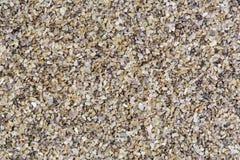 Οριζόντια σύσταση αμμοχάλικου από τις πέτρες χαλαζία Στοκ φωτογραφία με δικαίωμα ελεύθερης χρήσης