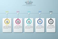 Οριζόντια υπόδειξη ως προς το χρόνο με την ένδειξη έτους απεικόνιση αποθεμάτων