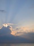 οριζόντια φυσική ανατολή θάλασσας φωτογραφιών σκοταδιού χρωμάτων στοκ φωτογραφίες με δικαίωμα ελεύθερης χρήσης