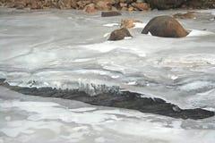 Οριζόντια χειμερινή θέα βουνού του Winter Park, Κολοράντο Στοκ Φωτογραφίες