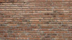 οριζόντιος κόκκινος καλυμμένος τοίχος σύστασης τούβλου ανασκόπησης Στοκ εικόνα με δικαίωμα ελεύθερης χρήσης