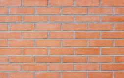 οριζόντιος κόκκινος καλυμμένος τοίχος σύστασης τούβλου ανασκόπησης Στοκ Φωτογραφίες